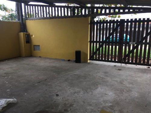 ótima casa em itanhaém-sp, 2 dormitórios - ref 4503-p