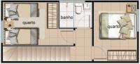 ótima casa geminada 2 quartos - 139