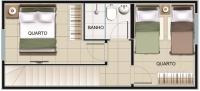 ótima casa geminada 2 quartos - 154