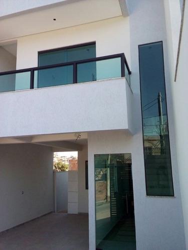 ótima casa geminada 3 quartos com suíte e 2 vagas - 228