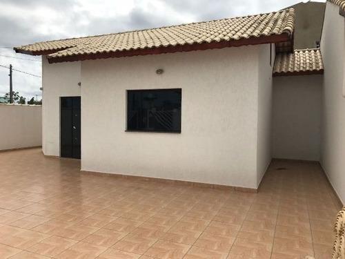 ótima casa lado praia com terreno total medindo 125m² r.3400