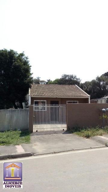ótima casa no bairro boqueirão- araucária, com 56 m². - c-686 - 33123389