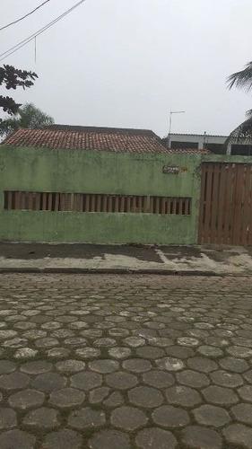 ótima casa no bairro novaro, 2 dormitórios! itanhaém-sp