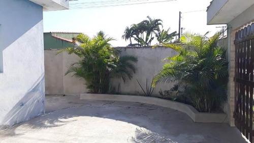 ótima casa no balneário gaivota, em itanhaém - ref 4456