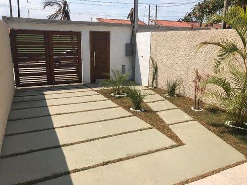 ótima casa no jardim são fernando à 800m do mar  - ref 4712