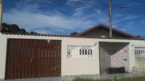 ótima casa no jardim suarão, em itanhaém - ref 4394