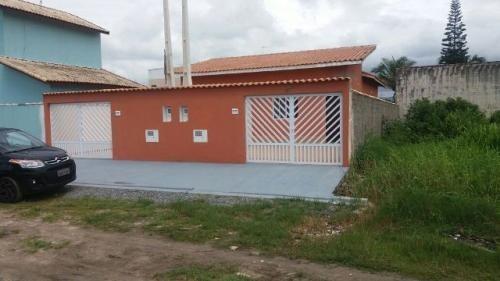 ótima casa nova no balneário gaivota, em itanhaém