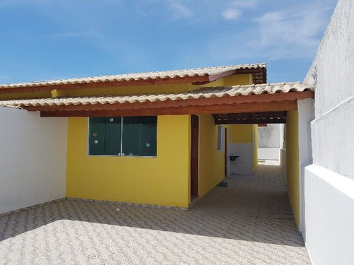 ótima casa nova no balneário tupy, em itanhaém - ref 3930