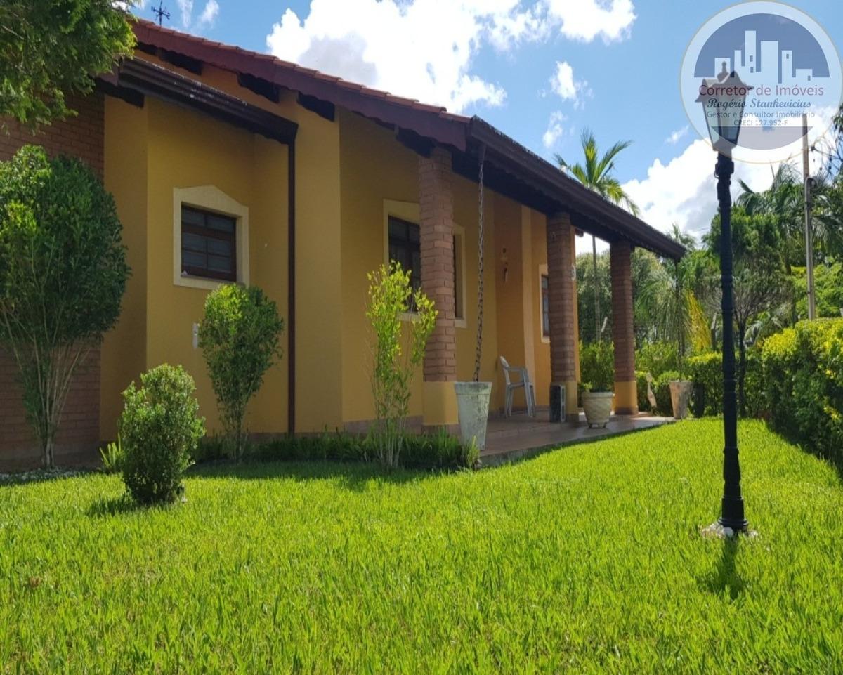 ótima casa térrea no condominio vista alegre - ca00007 - 34856046