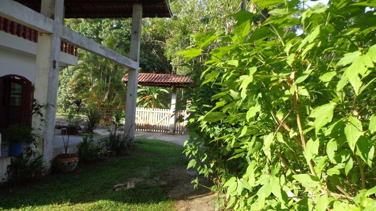 ótima chácara assobradada em itanhaém no jardim são fernando