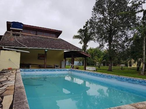 ótima chácara com 2 quartos e piscina - ref 4500-p