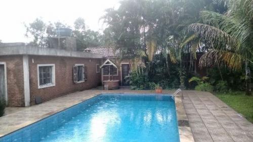 ótima chácara com piscina itanhaém/sp ref: a.c 3868
