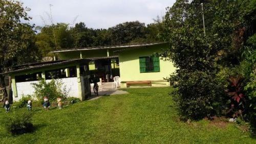 ótima chácara no aguapeú, em itanhaém, litoral - ref 3035
