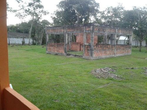 ótima chácara no jardim são fernando, em itanhaém - ref 3639