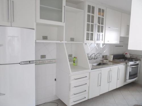 ótima cobertura 3 dormitórios com lazer - astúrias - guarujá - co0109