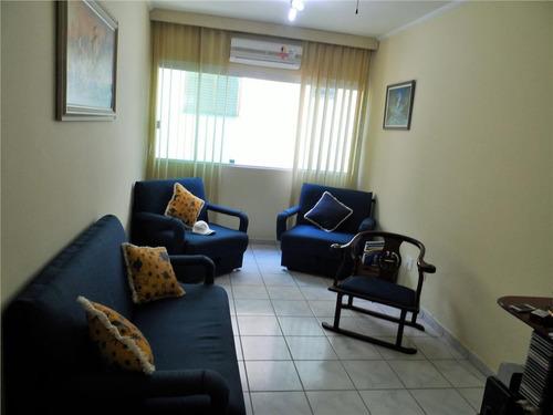 ótima cobertura de 1 dormitório com churrasqueira - astúrias - guarujá - co0072