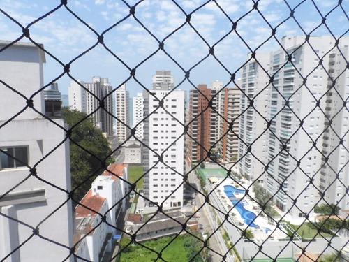 ótima cobertura duplex 3 dormitórios - astúrias - guarujá - co0111