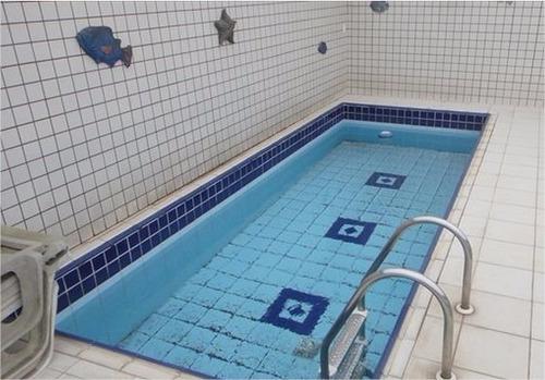 ótima cobertura embaré frente 3 suites 3 garagens piscina