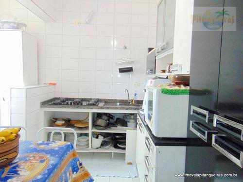 ótima localização próximo a travessia guarujá/santos - ideal para moradia ou investir em locação anual. - ap4408