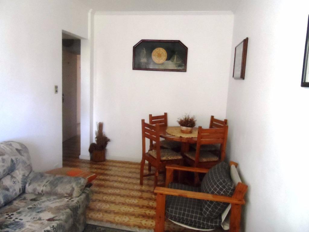 ótimo apartamento 1 dormitório - astúrias - guarujá - ap1146