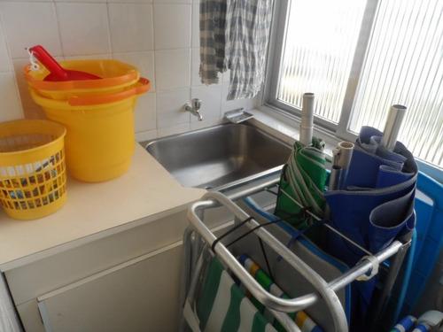 ótimo apartamento 1 dormitório com sacada - astúrias - guarujá - ap1138