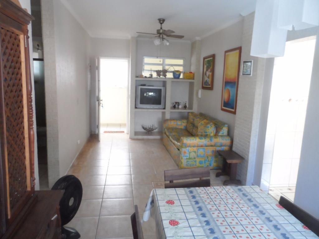 ótimo apartamento 1 dormitório grande - astúrias - guarujá - ap1220