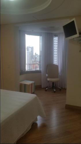 ótimo apartamento 1 por andar no centro de ponta grossa - ap0709