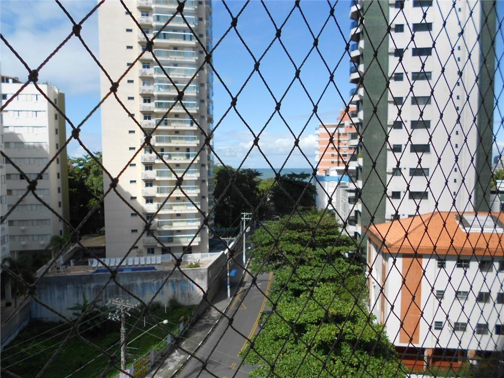 ótimo apartamento 2 dormitórios (1 suíte) com vista mar - praia do tombo -  guarujá - ap0886