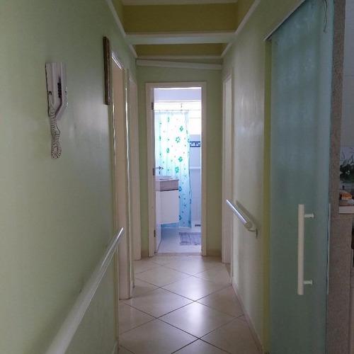 ótimo apartamento 2 dormitórios com dependência - pitangueiras - guarujá - ap1139