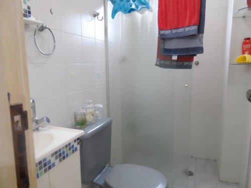 ótimo apartamento 2 dormitórios com lazer - tombo - guarujá - ap1145