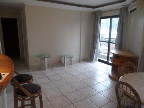 ótimo apartamento 2 dormitórios com lazer - tombo - guarujá - ap1260