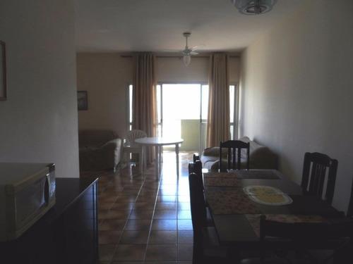 ótimo apartamento 2 dormitórios frente ao mar - locação anual - astúrias - guarujá - ap1192