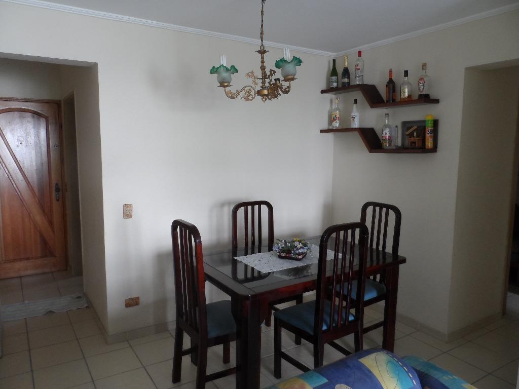 ótimo apartamento 2 dormitórios mais 1 reversível - astúrias - guarujá - ap1079