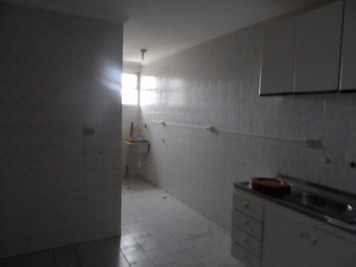 ótimo apartamento 2 dormitórios para locação anual - vazio - tombo - guarujá - ap1144