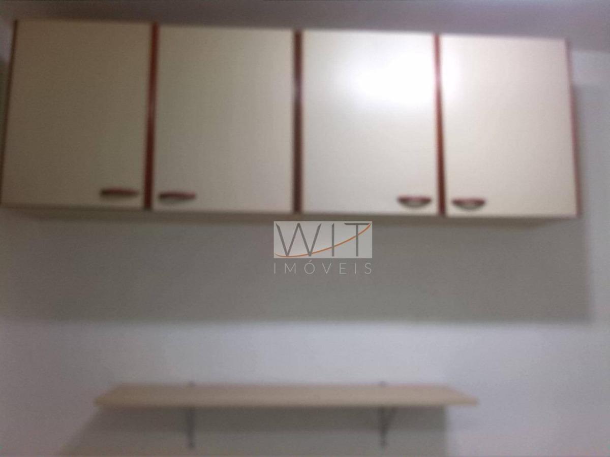 ótimo apartamento 2 dormitórios à venda, 58 m² por r$ 180.000 - jardim miranda - campinas - ap0960