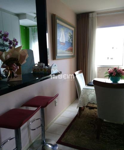 ótimo apartamento 2 quartos semi mobiliado em biguaçu - ap00128 - 33566455