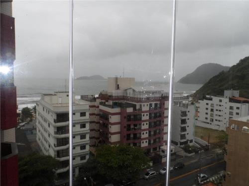 ótimo apartamento 2 suítes com vista mar e lazer - tombo - guarujá - ap0912