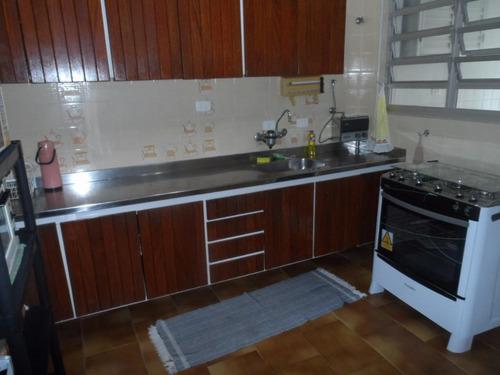 ótimo apartamento 3 dormitórios em prédio frente ao mar - astúrias - guarujá - ap1113
