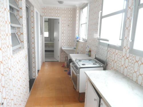 ótimo apartamento 3 dormitórios frente ao mar - astúrias - guarujá - ap1326