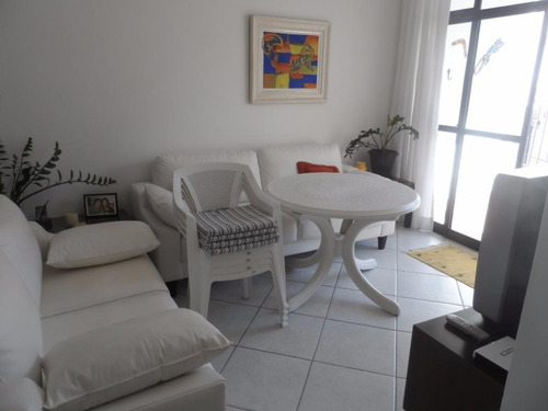 ótimo apartamento 3 dormitórios - tombo - guarujá - ap1263