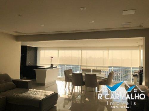 ótimo apartamento andar alto 3 quartos - vila mascote - 713