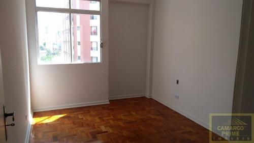ótimo apartamento com 100 metros santa cecília  ao lado do metro marechal e esquina alameda barros - eb79306