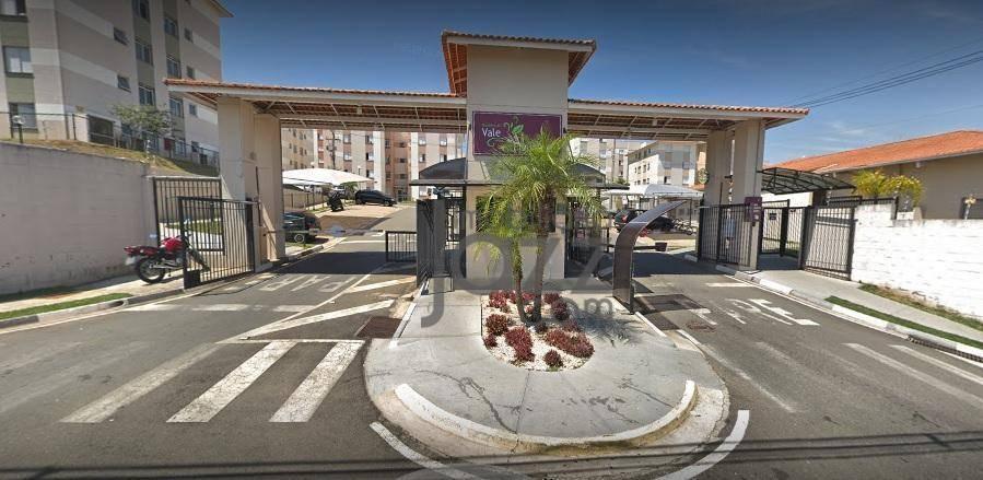 ótimo apartamento com 2 dormitórios à venda, 47 m² por r$ 215.000 - nova espirito santo - valinhos/sp - ap2887