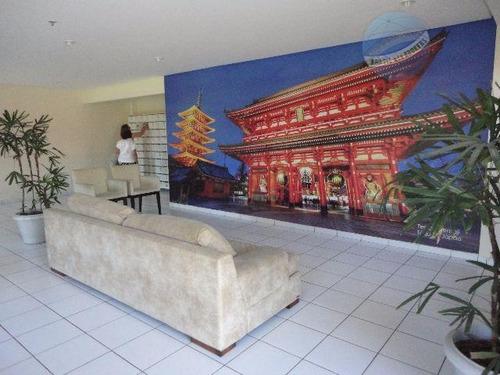 ótimo apartamento com 2 quartos, em candelária - residencial metrópolis - ap0121