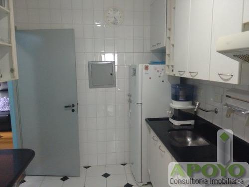 ótimo apartamento com 55 m², aceita permuta em apartamento. - yo2771