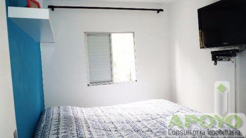 ótimo apartamento com 58 m² - yo2317