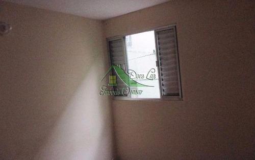 ótimo apartamento com garagem fechada. cohab 2, carapicuíba.