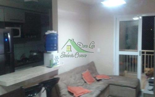 ótimo apartamento com varanda gourmet. carapicuíba/sp.