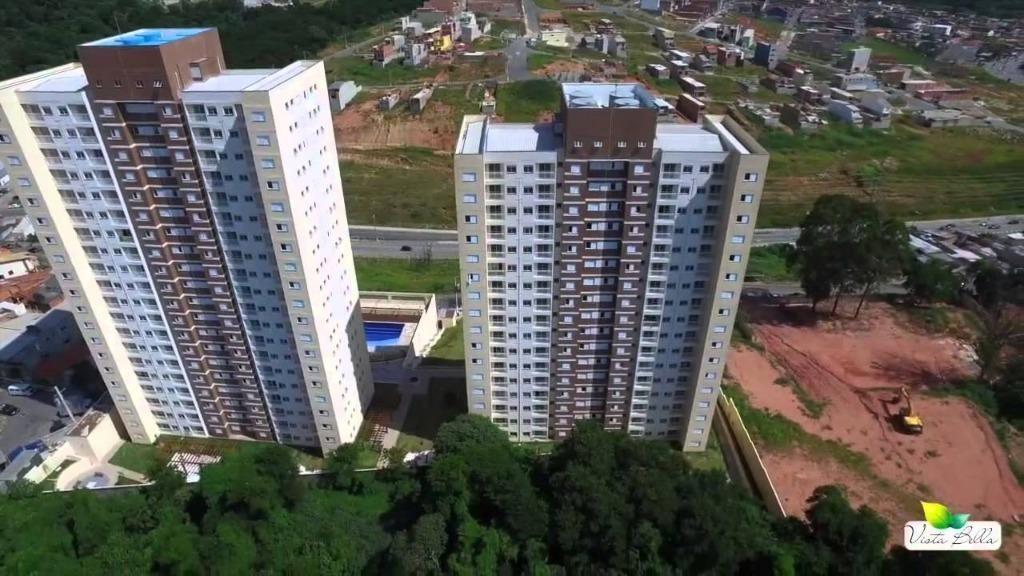 otimo!! apartamento condomínio vista bella barueri, 2 dorm 1 suite 2 vagas - ap2162