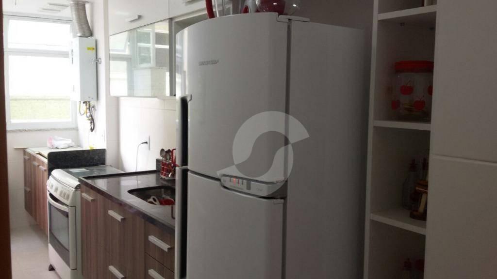 ótimo apartamento de 2 quartos com suíte, varanda, vaga e lazer completo em icaraí - ap5763